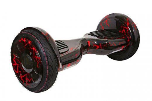 Гироскутер Smart Balance 10 NEW Самобаланс APP Молния Красная